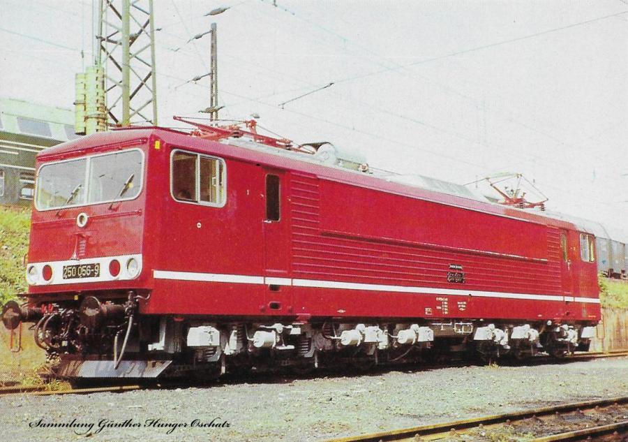 100 Jahre E-Lok Verkehrsmuseum Dresden  Elektrische Lokomotive der Baureihe 250