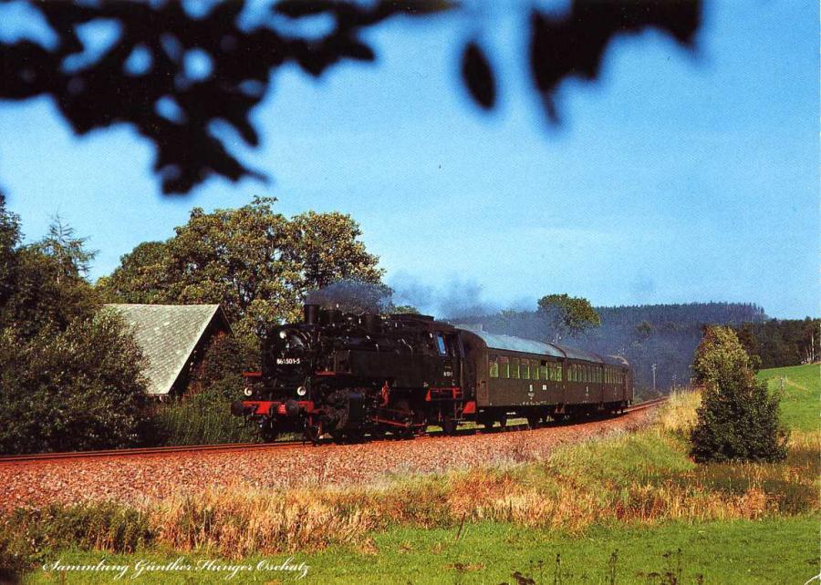 Güterzug-Dampflokomotive 86 1501