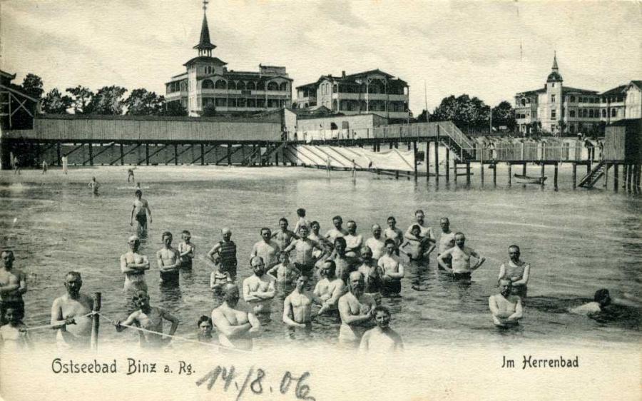 Ostseebad Binz a. Rg. Im Herrenbad