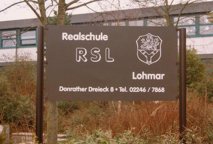 RSL-Hinweisschild