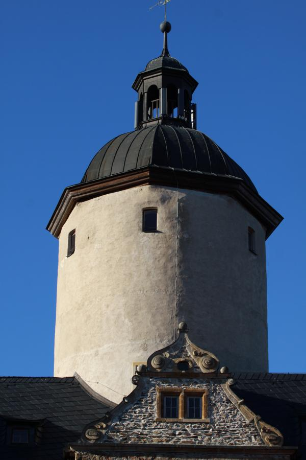 Bergfried Burg Ranis