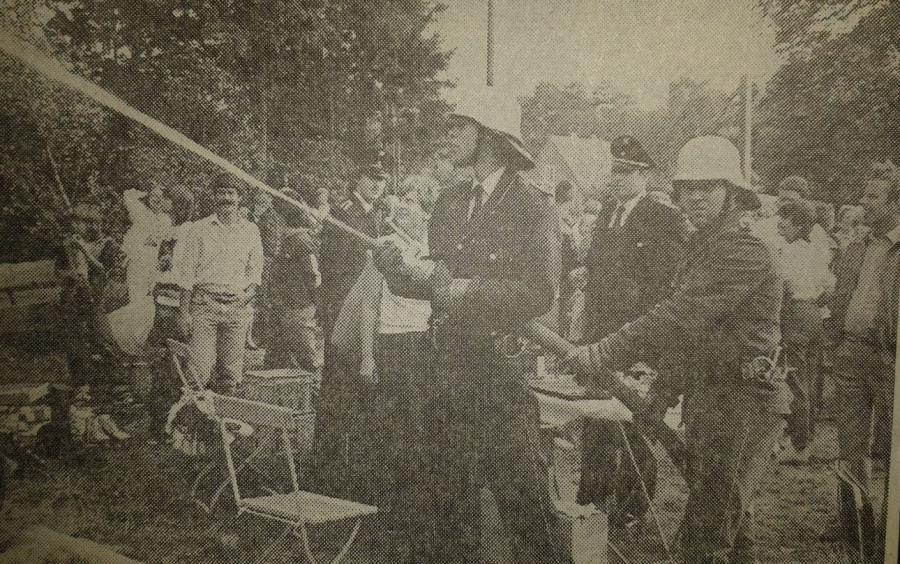 1983-10-03 großes Dorffest der FF