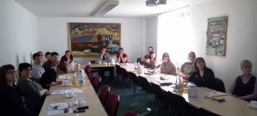 Teilnehmer der Winterschulung für Direktvermarkter