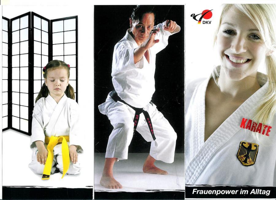 Karate 3er-Bild