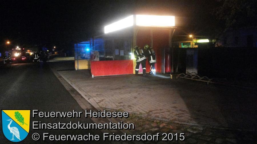Einsatz 116 unklare Explosion Friedersdorf Lindenstraße 14.07.2015