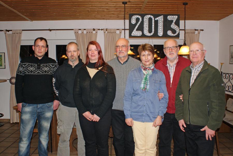 Jörg Ulrich, Renè Doert, Steffi Doert, Horst Breer, Christine Ledwon, Hermann Volke, Karl-Heinz Lauer