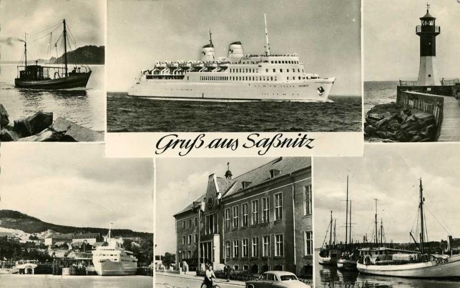 Gruß aus Saßnitz 1960