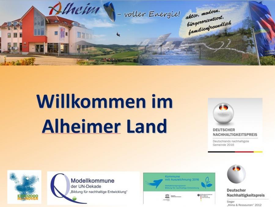 Alheim - die ausgezeichnete Gemeinde