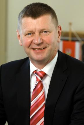 Siegurd Heinze, Landrat des Landkreises Oberspreewald-Lausitz
