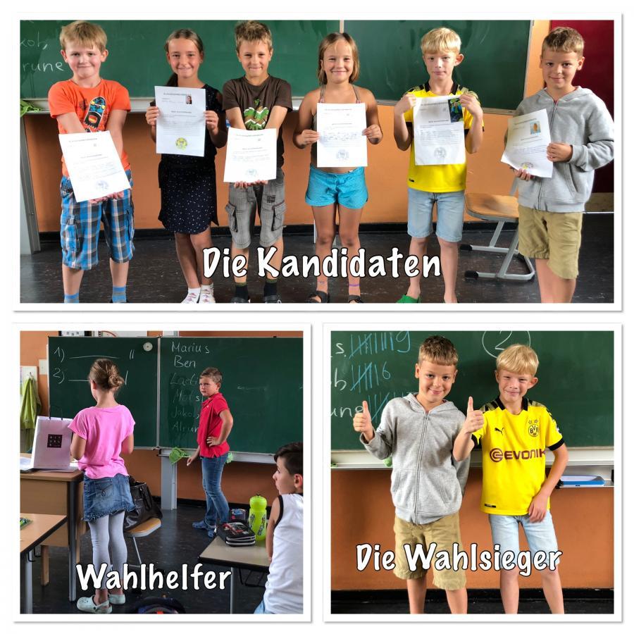 Klassensprecherwahl