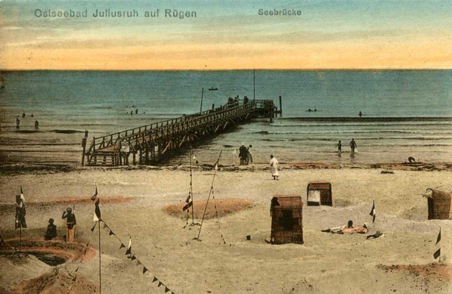 Ostseebad Juliusruh Seebrücke