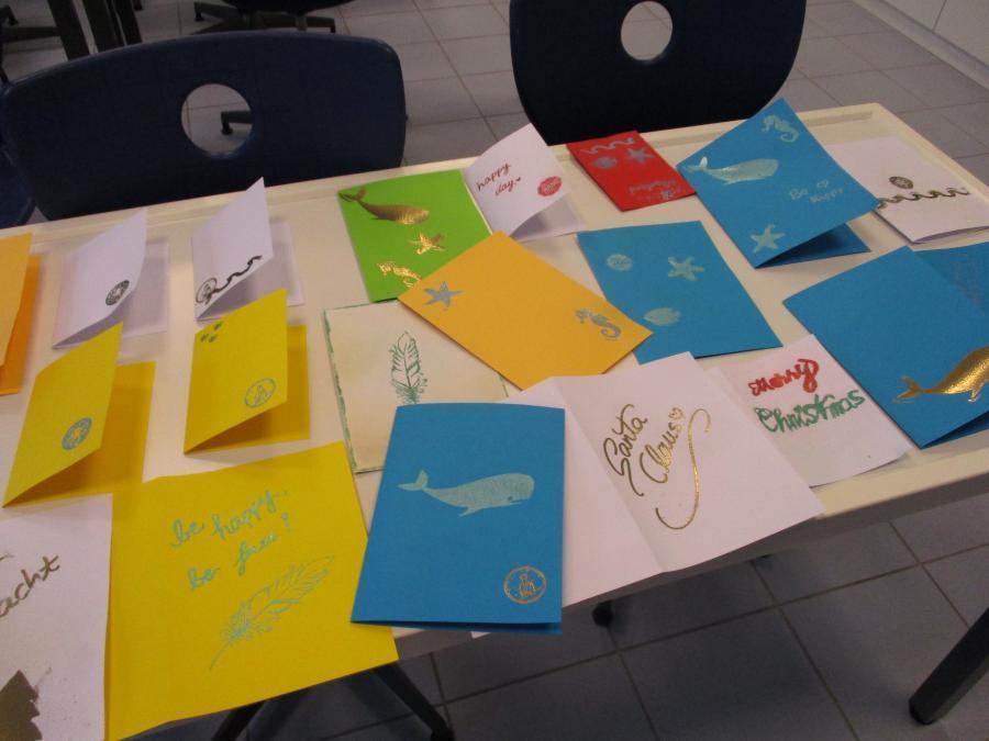 Embossing-Papier und -Karten
