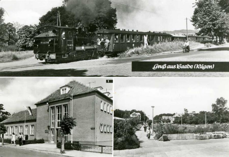 Gruß aus Baabe Reichsbahn-Erholungsheim