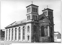 St. Nicolai-Kirche, 1952