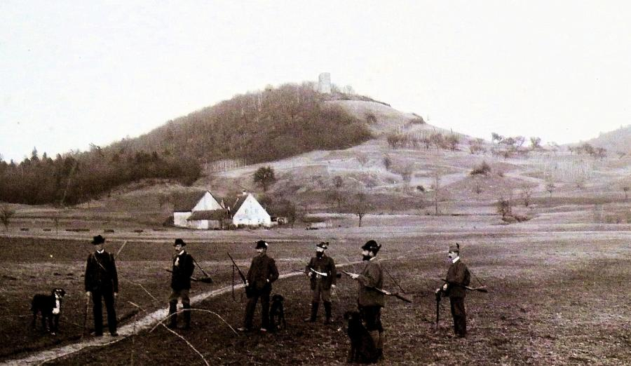 Schloßberg etwa um1925