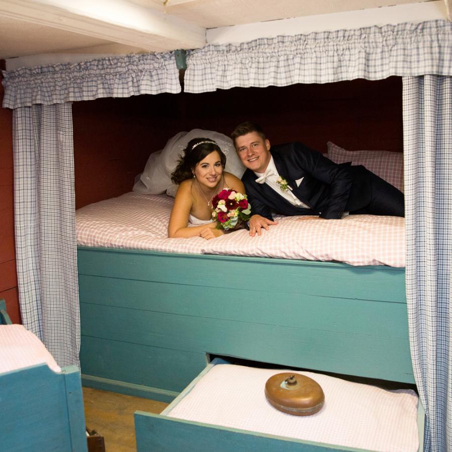 Heiraten im Freilandmuseum Lehde Foto- Sigrid Arnd