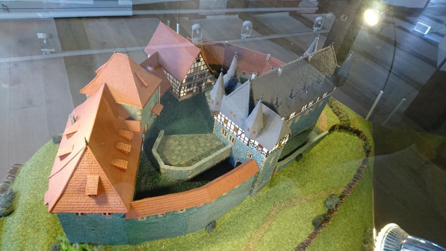 Die Burg um 1500