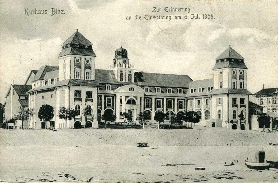 Kurhaus Binz  Zur Erinnerung