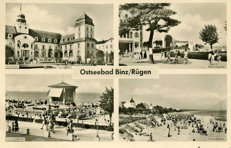 Ostseebad Binz Rügen 1959