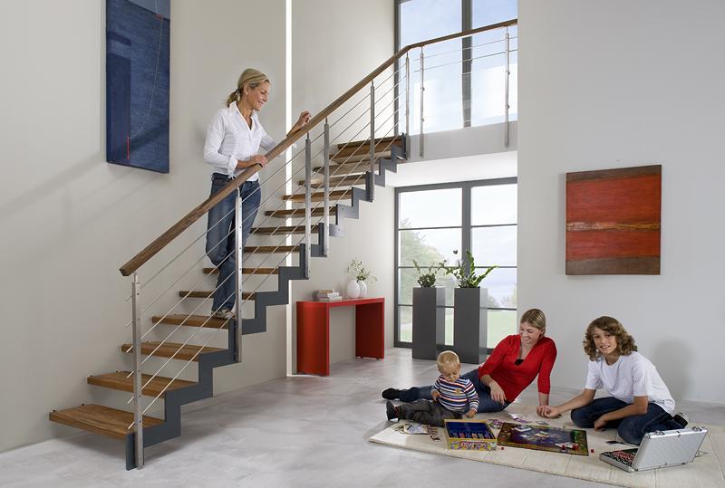 Treppenbau auf der Insel Usedom
