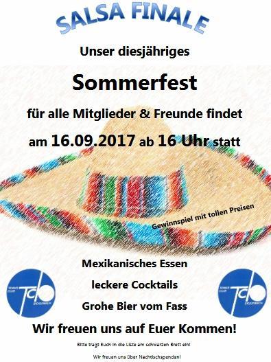 Sommerfest TCB