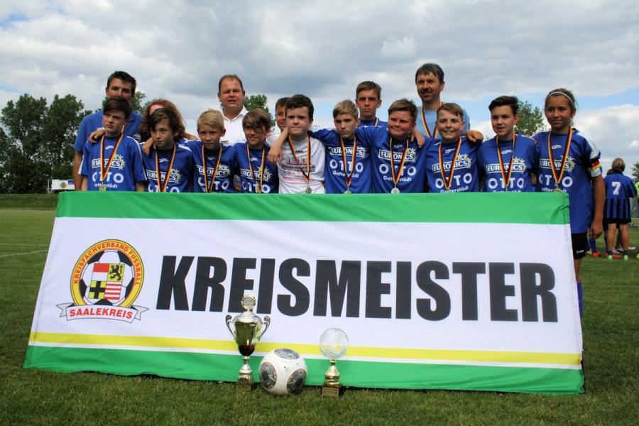 Kreismeister D-Junioren 2014
