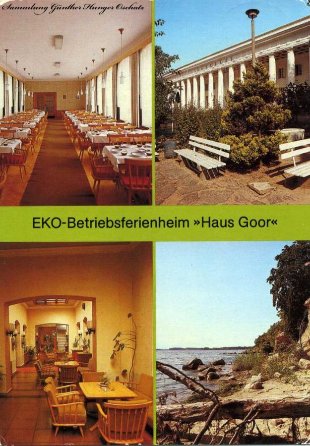 EKO-Betriebsferienheim Haus Goor Putbus Ortsteil Lauterbach