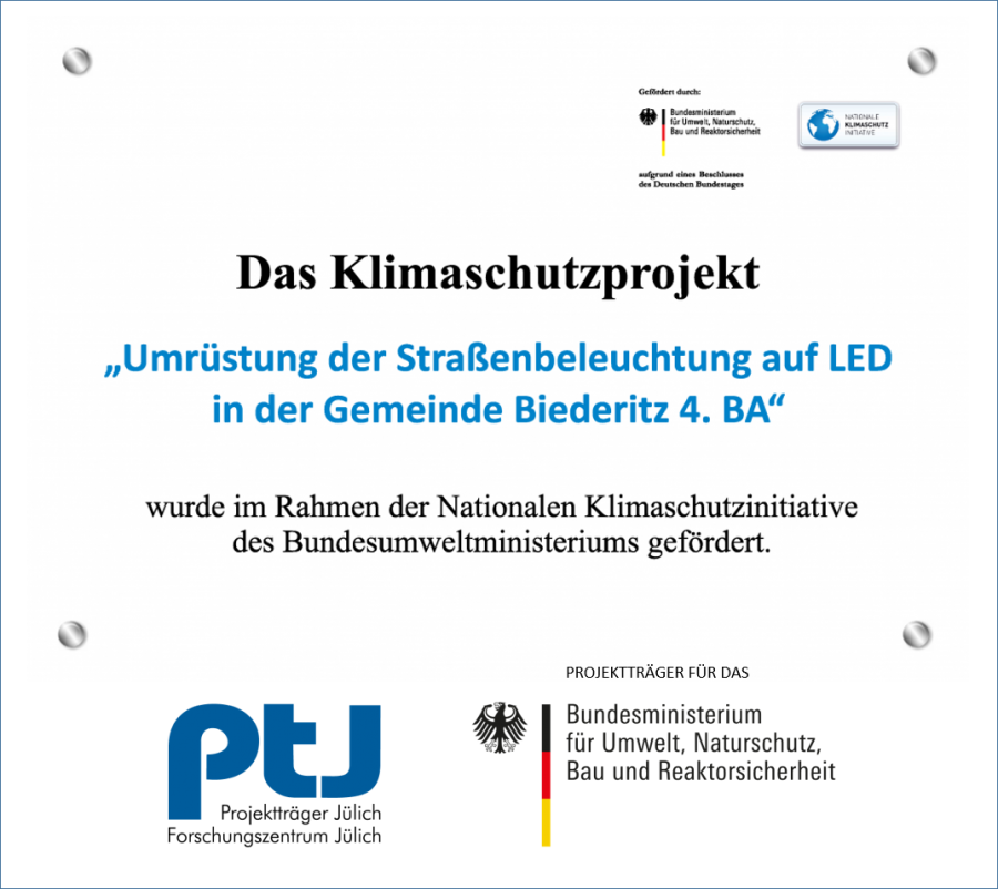 Umrüstung der Straßenbeleuchtung auf LED 4. BA