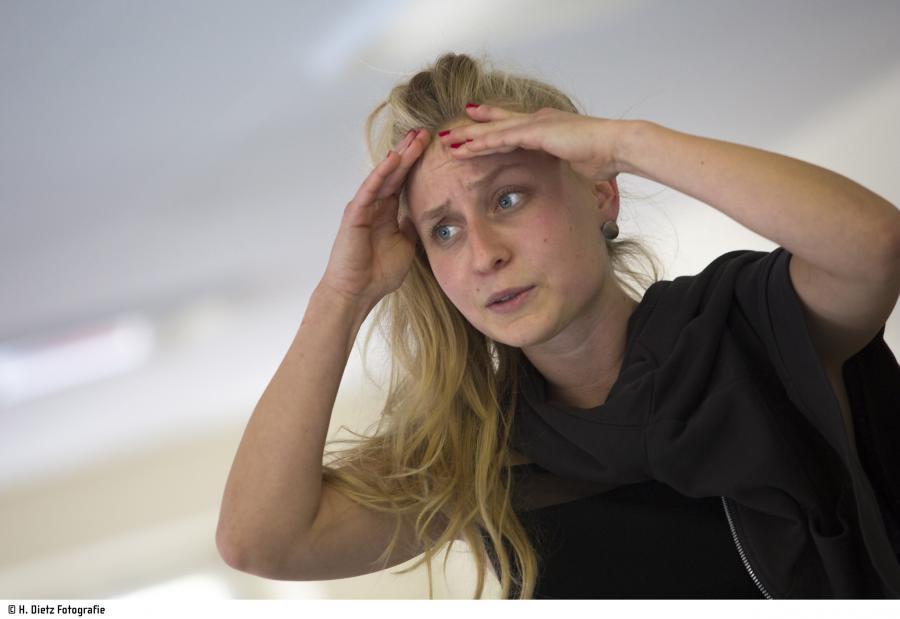 Selina Böhm (Kiwi = Kirsten Wittenbrink); H. Dietz Fotografie, Hof