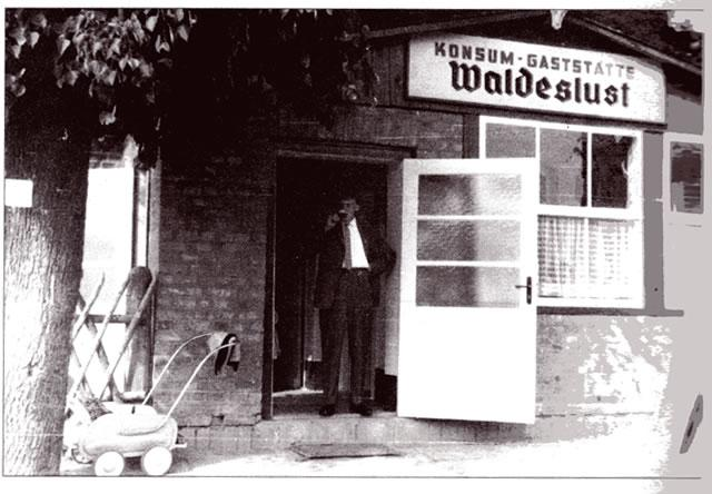 Der Dorfkrug zu DDR- Zeiten