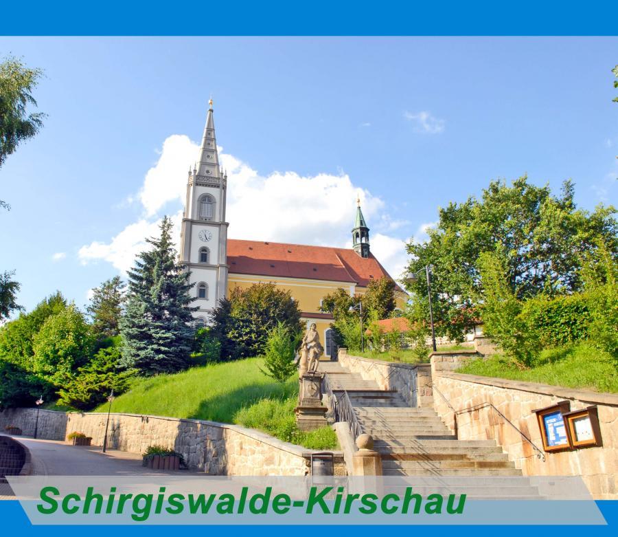 Schirgiswalde - Kirschau Button