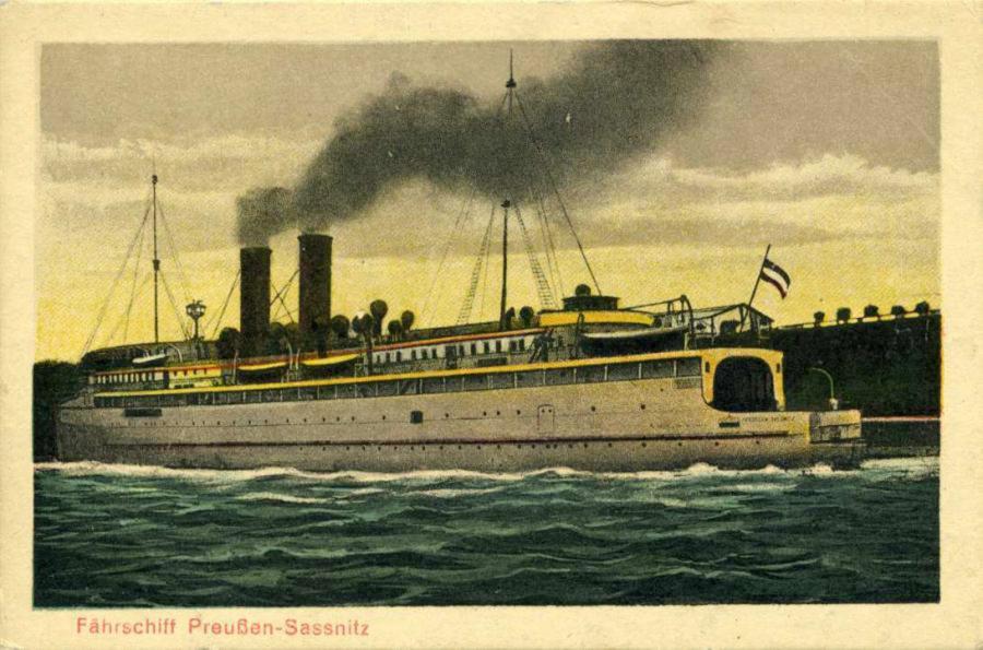 Fährschiff Preussen-Sassnitz