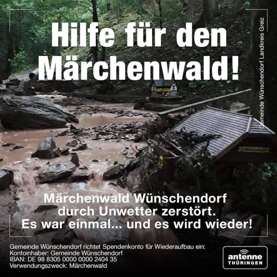 Spendenaufruf Märchenwald