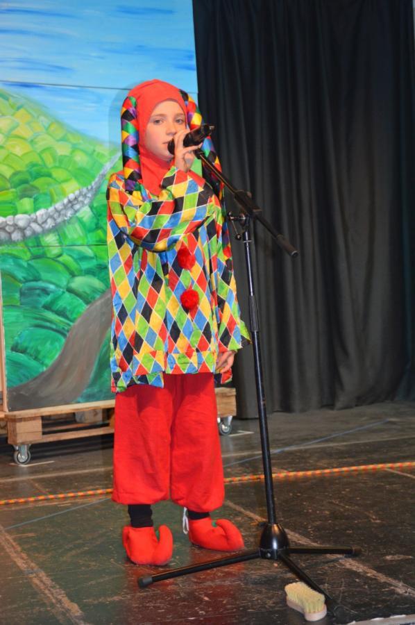 Johanna als Till Eulenspiegel
