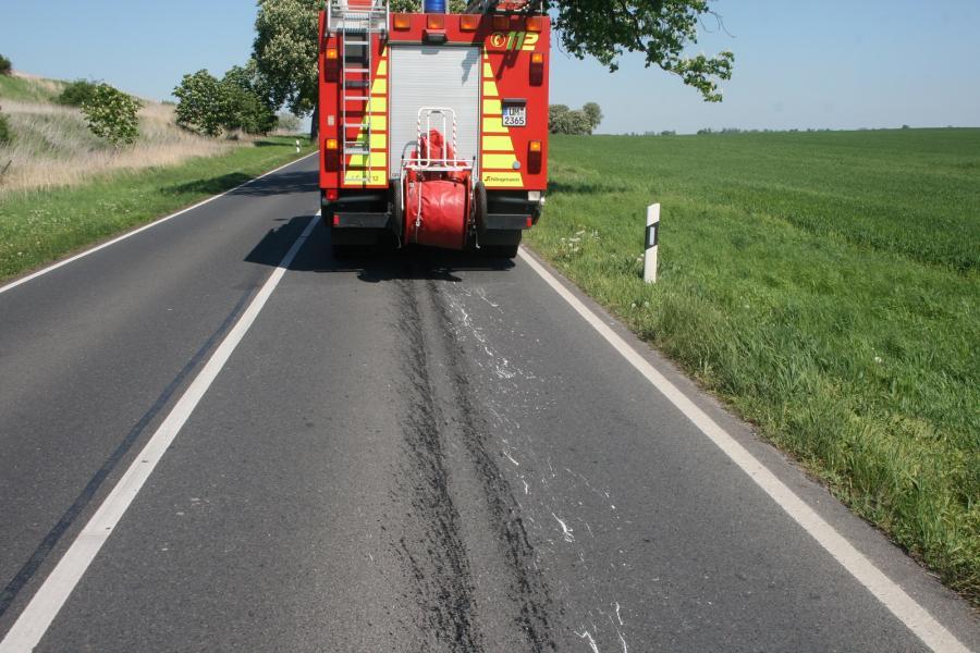 Ölspur, Gramzow Richtung Hohengüstow