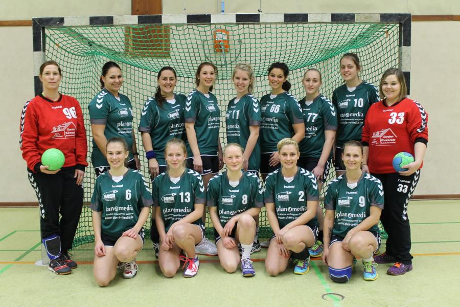Mannschaftsfoto der 1. Damen (Saison 2016/17)