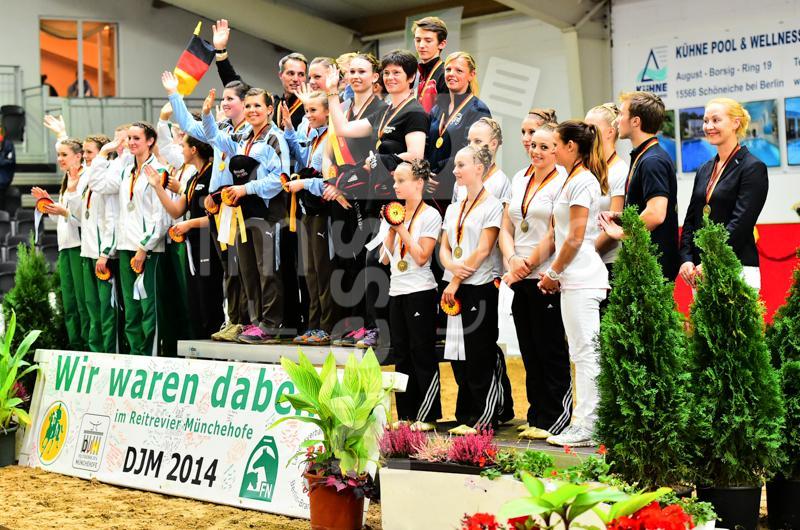 2014 - September  Deutsche Jugendmeisterschaften Voltigieren