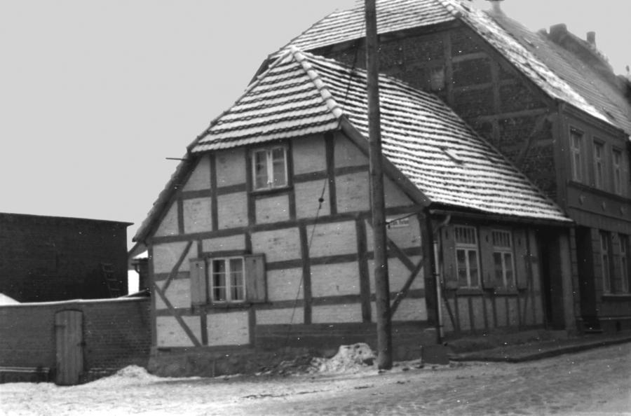 Das alte Torschreiberhaus 1963