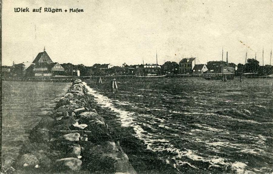 Wiek auf Rügen Hafen