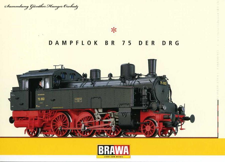 Dampflokomotive BR 75 der DRG