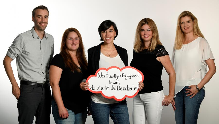 Teamfoto Maintal Aktiv - Freiwilligenagentur