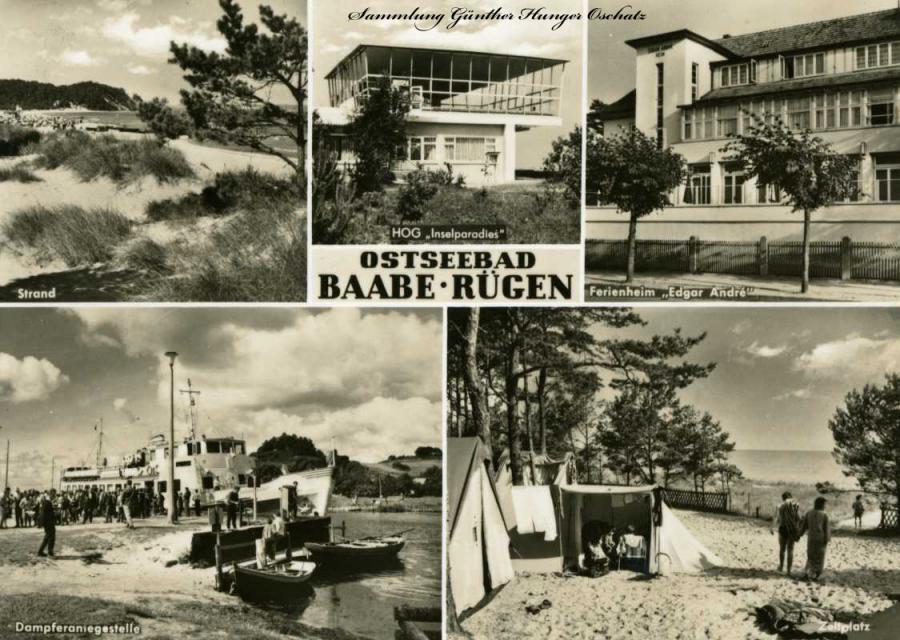Ostseebad Baabe Rügen