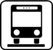 Bushaltestellenentfernung