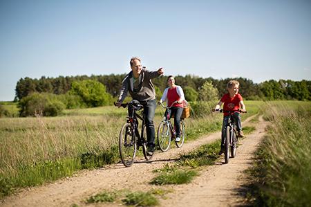 Radfahren_Naturpark Barnim_Foto: Heise