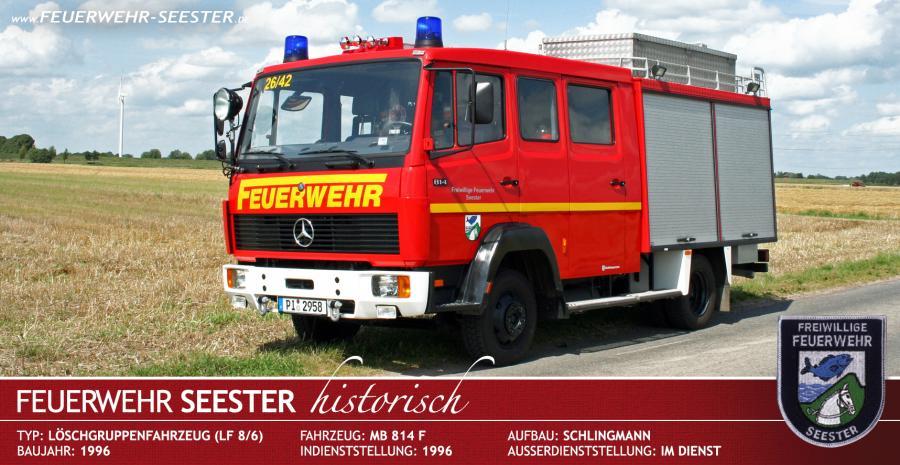 Löschgruppenfahrzeug LF 8/6 von 1996