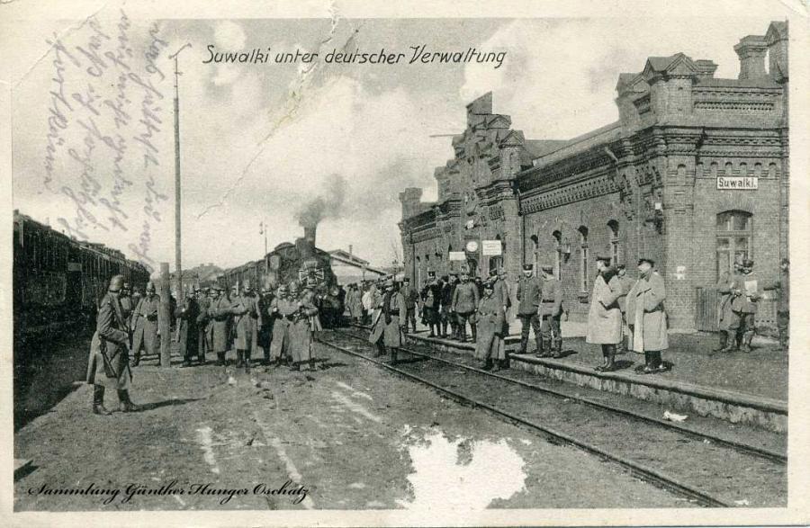 Sulwaki unter deutscher Verwaltung 1916