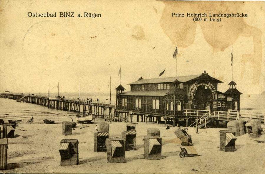 6 Binz Landungsbrücke 1914