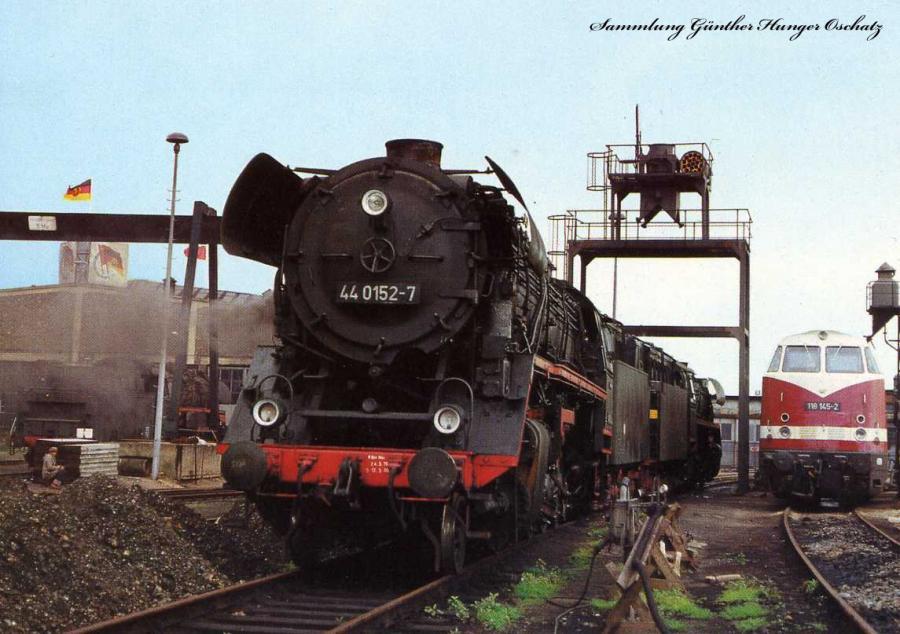 Dampflokomotiven im Ostseebezirk