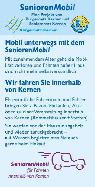 Flyer SeniorenMobil Seite 1