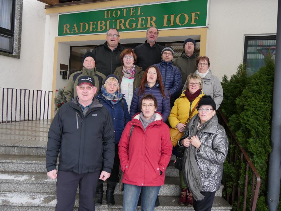 Jahresabschluss Wandern in Radeburg